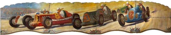 Lakin & Co. (Edwin Hall), R. J.; Sam Crow's Dodgem Track: Race Cars