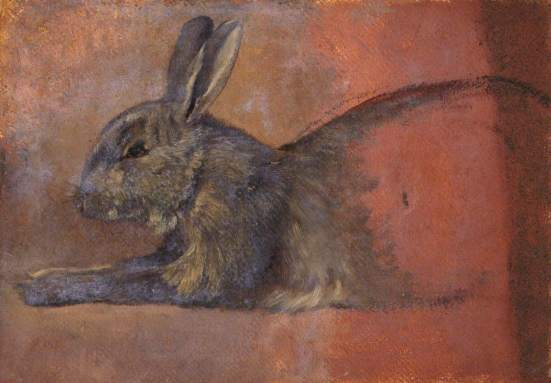 Smith, Thomas Stuart; Study of a Rabbit; The Stirling Smith Art Gallery & Museum; http://www.artuk.org/artworks/study-of-a-rabbit-127657