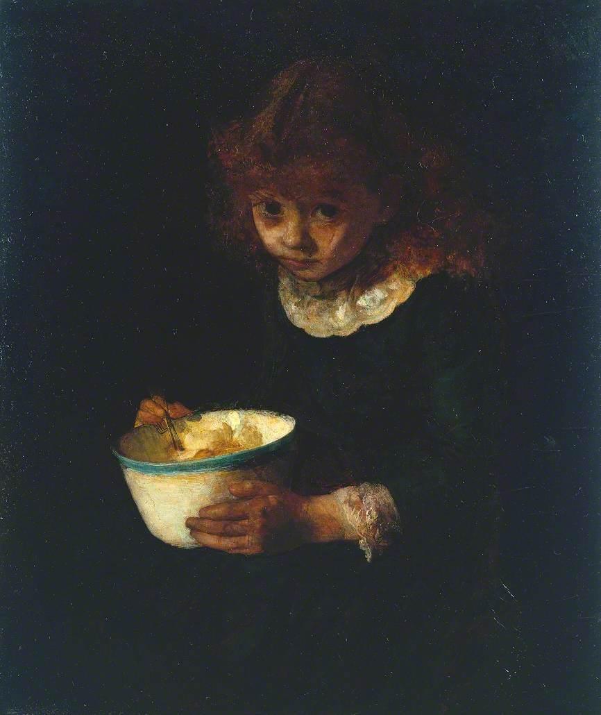 Potter, Frank Huddlestone, 1845-1887; Little Dormouse